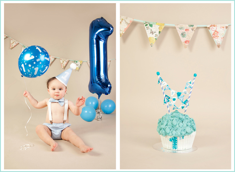 cake,smash,birthday one toddler,studio photo,